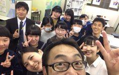 【明光義塾田迎教室】受験終了ありがとう会