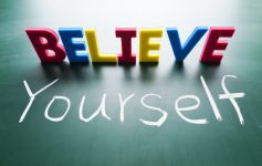 自信を持つこと!